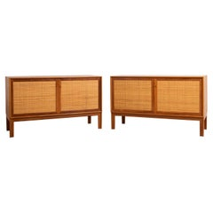 Mid-Century Modern Swedish Teak Sideboards by Alf Svensson