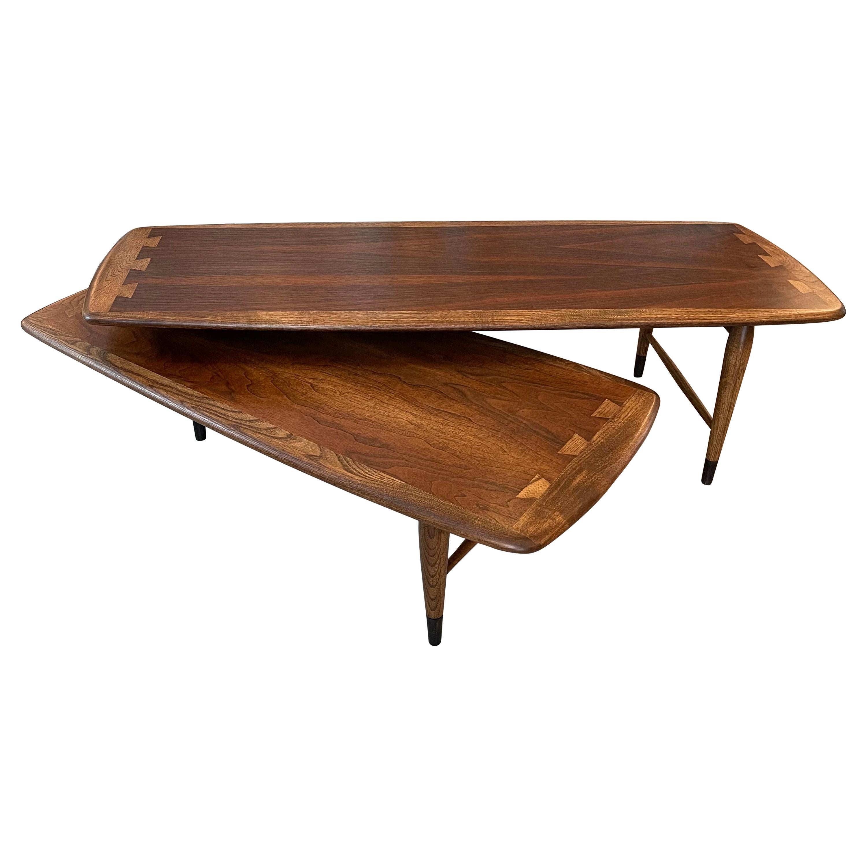 Mid-Century Modern Switchblade Coffee Table by Lane Acclaim
