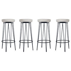 Mid-Century Modern Swivel Bar Stools or Counter Stools after Frederick Weinberg