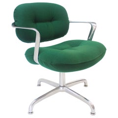 Mid-Century Modern Swivel Desk Chair by Andrew Morrison & Bruce Hannah for Knoll