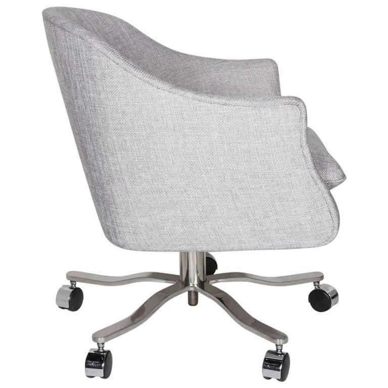 Mid Century Modern Swivel Desk Chair Designed By Ward Bennett For