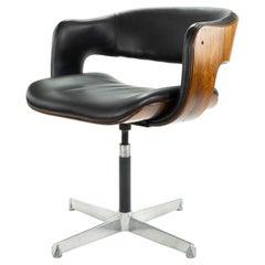 Mid-Century Modern Swivel Oxford Chair by Martin Grierson for Arflex, Spain 1963