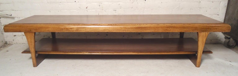 Mid-20th Century Mid-Century Modern Table by Lane For Sale