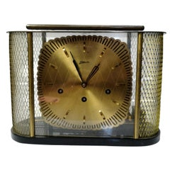 Mid-Century Modern Table Clock, by Atlanta, 1950s