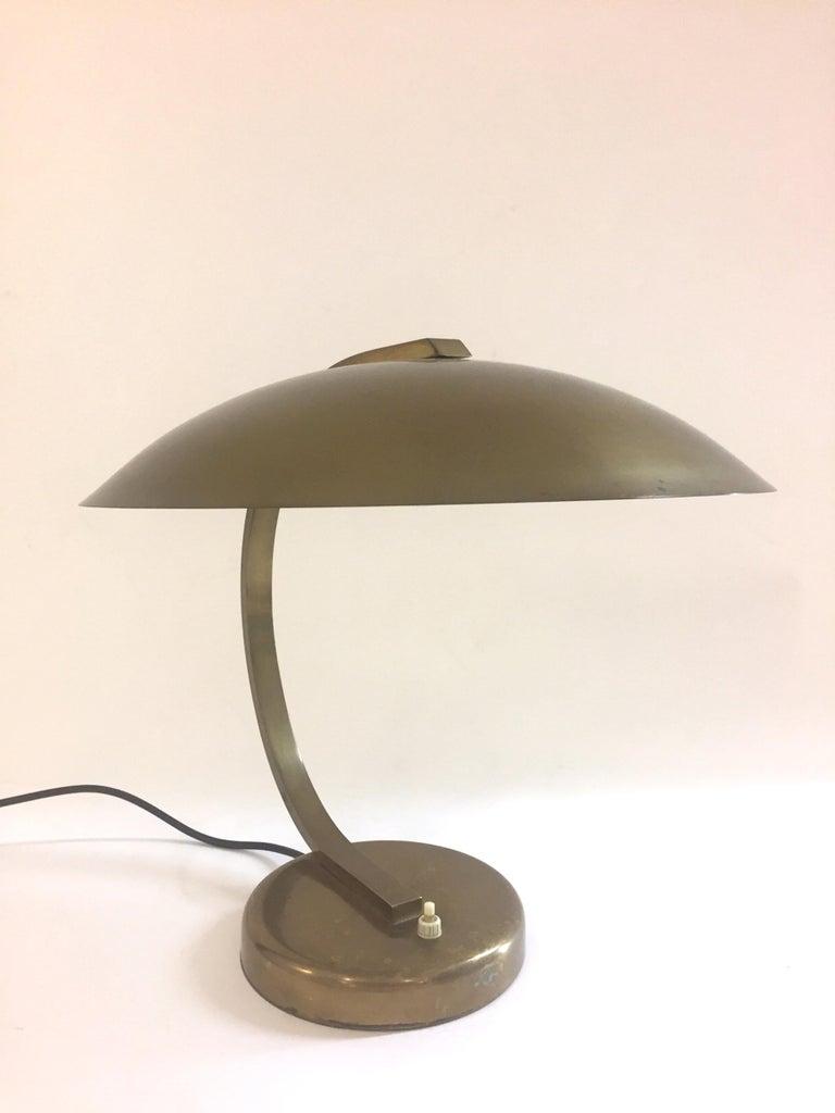 Bauhaus Mid-Century Modern Table Lamp, 1940s For Sale