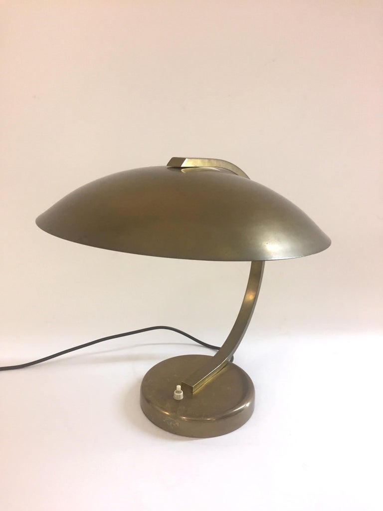 Mid-Century Modern Table Lamp, 1940s In Good Condition For Sale In Madrid, ES