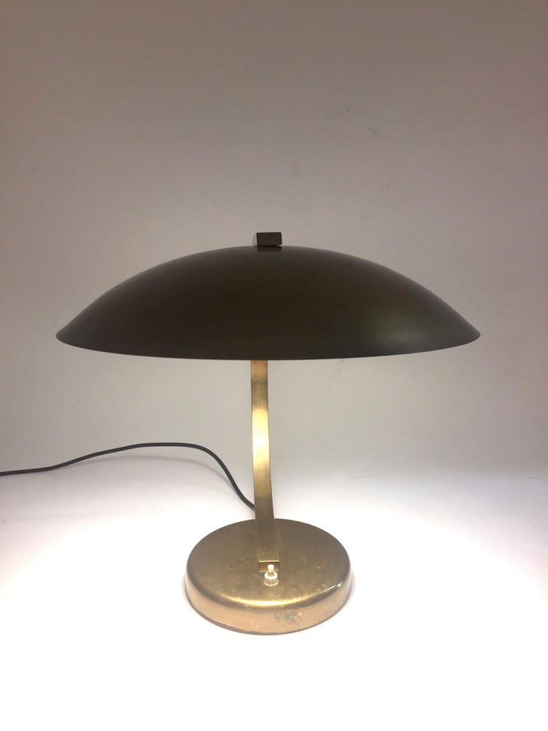 Mid-20th Century Mid-Century Modern Table Lamp, 1940s For Sale