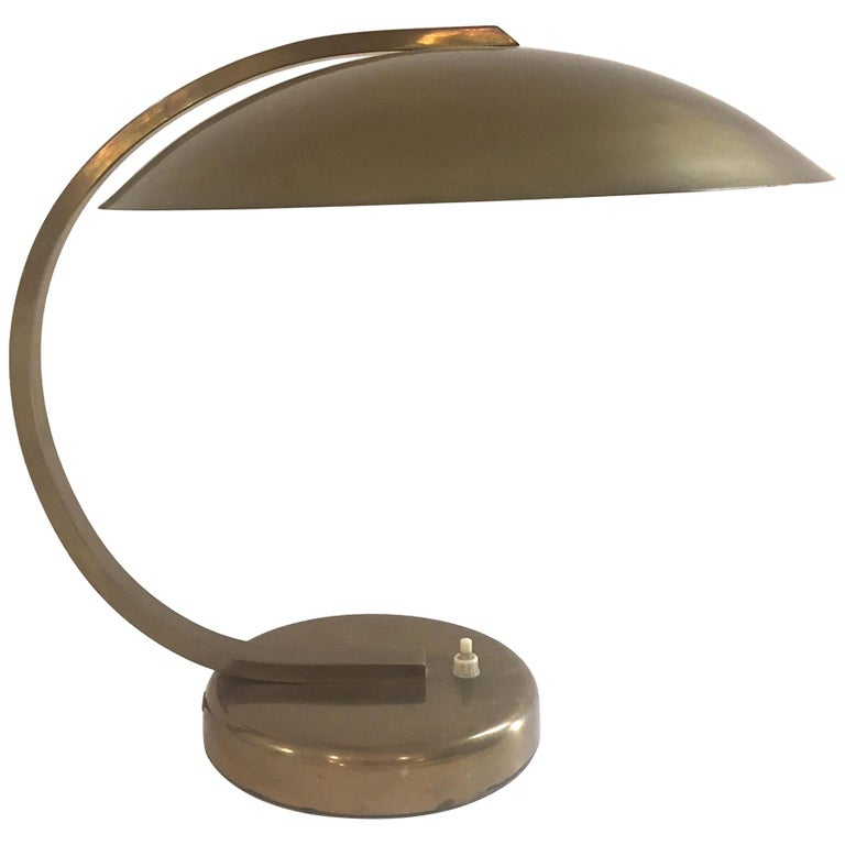 Mid-Century Modern Table Lamp, 1940s For Sale