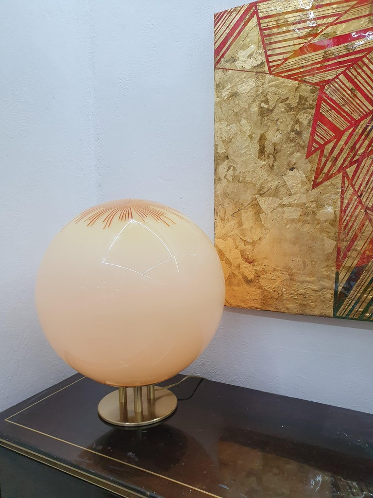 Mid-Century Modern Table Lamp by La Murrina in Murano Glass, circa 1970 For Sale 6