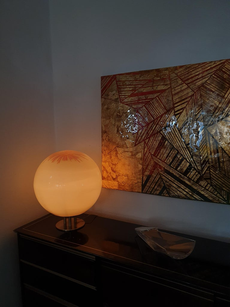 Mid-Century Modern Table Lamp by La Murrina in Murano Glass, circa 1970 For Sale 7