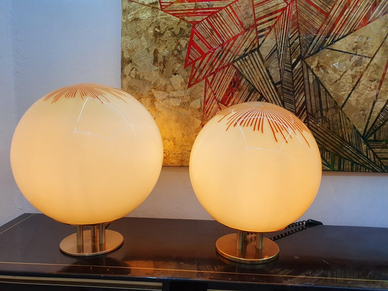 Mid-Century Modern Table Lamp by La Murrina in Murano Glass, circa 1970 For Sale 8