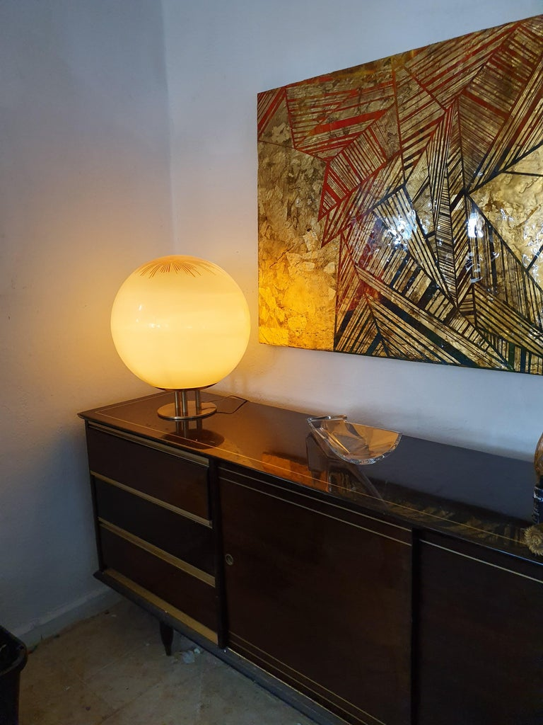 20th Century Mid-Century Modern Table Lamp by La Murrina in Murano Glass, circa 1970 For Sale
