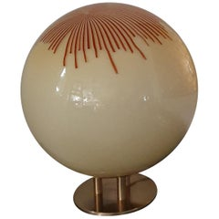 Mid-Century Modern Table Lamp by La Murrina in Murano Glass, circa 1970