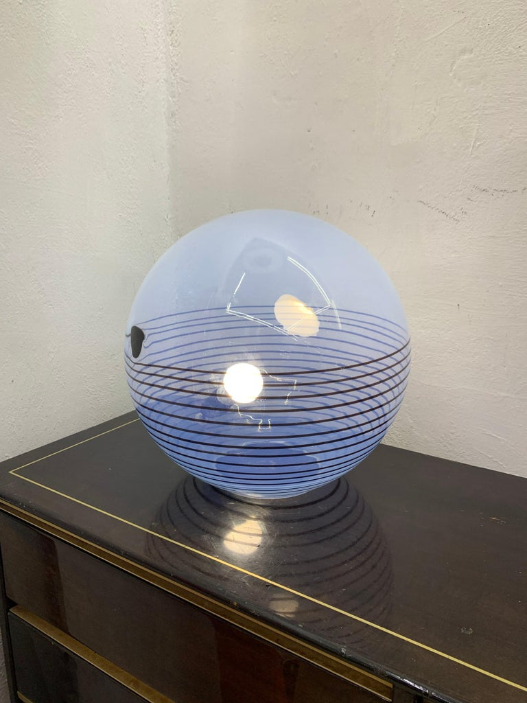 Mid-20th Century Mid-Century Modern Table Lamp by Mazzega in Murano Glass, circa 1960