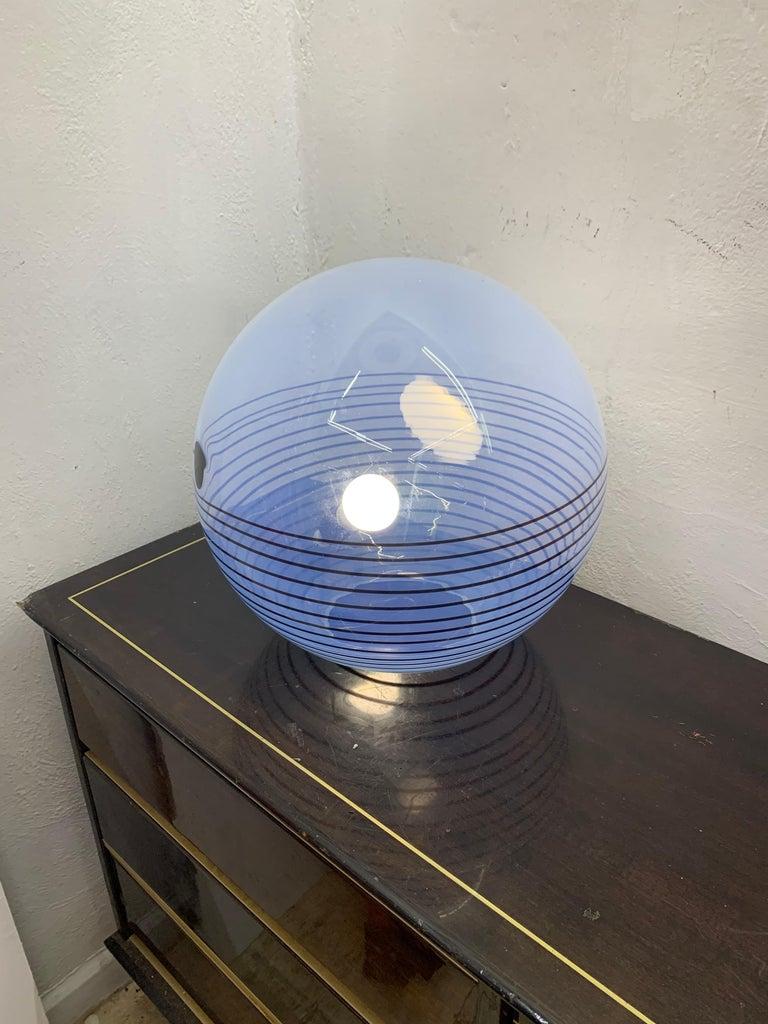 Mid-Century Modern Table Lamp by Mazzega in Murano Glass, circa 1960 1