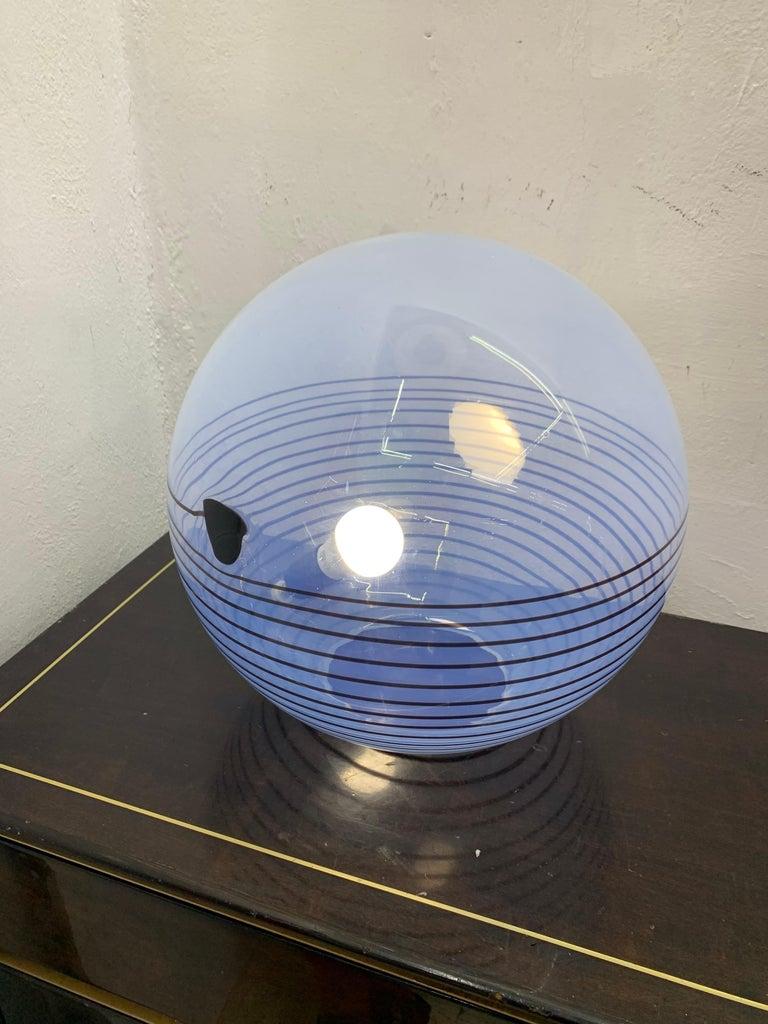 Mid-Century Modern Table Lamp by Mazzega in Murano Glass, circa 1960 2