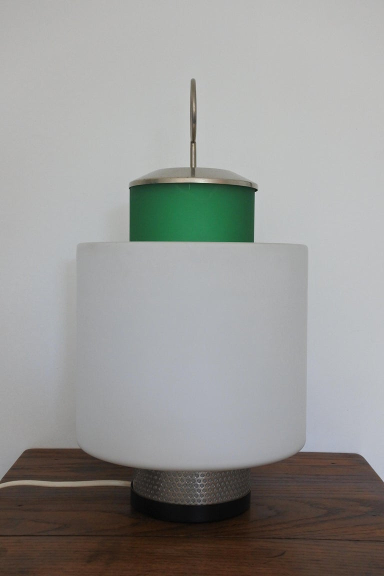 Mid-20th Century Mid-Century Modern Table Lamp by Stilnovo, Model 8052, Italy, 1958 For Sale