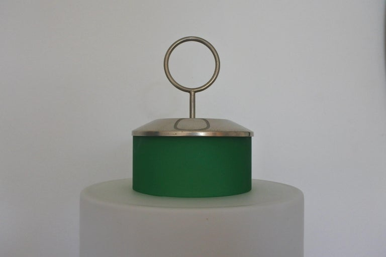 Metal Mid-Century Modern Table Lamp by Stilnovo, Model 8052, Italy, 1958 For Sale