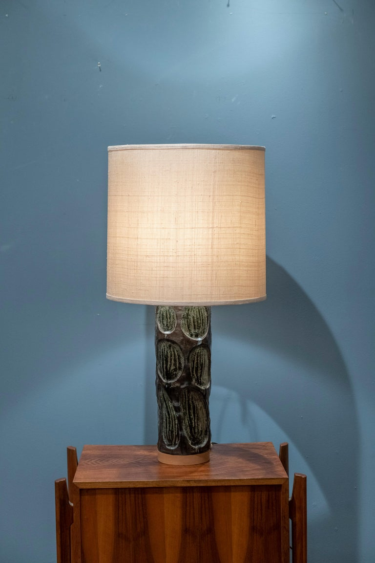 Mid-Century Modern Table Lamp In Good Condition For Sale In San Francisco, CA