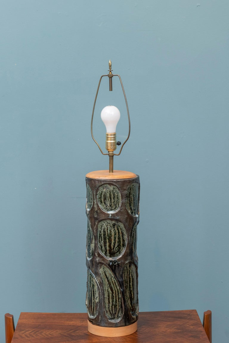 Mid-20th Century Mid-Century Modern Table Lamp For Sale