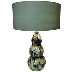 Mid-Century Modern Table Lamp Handmade Pottery Sofina Boutique Kitzbühel