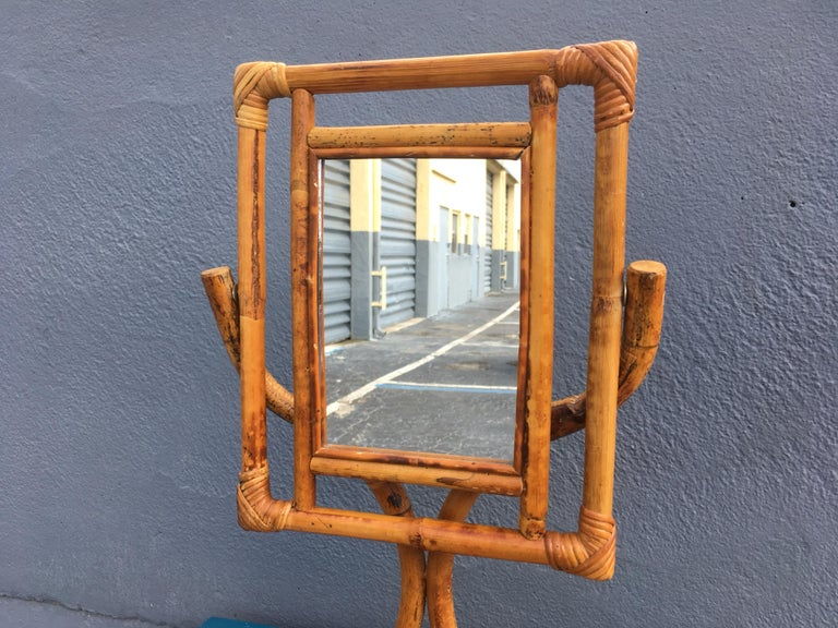 Mid-Century Modern Table Mirror For Sale 5