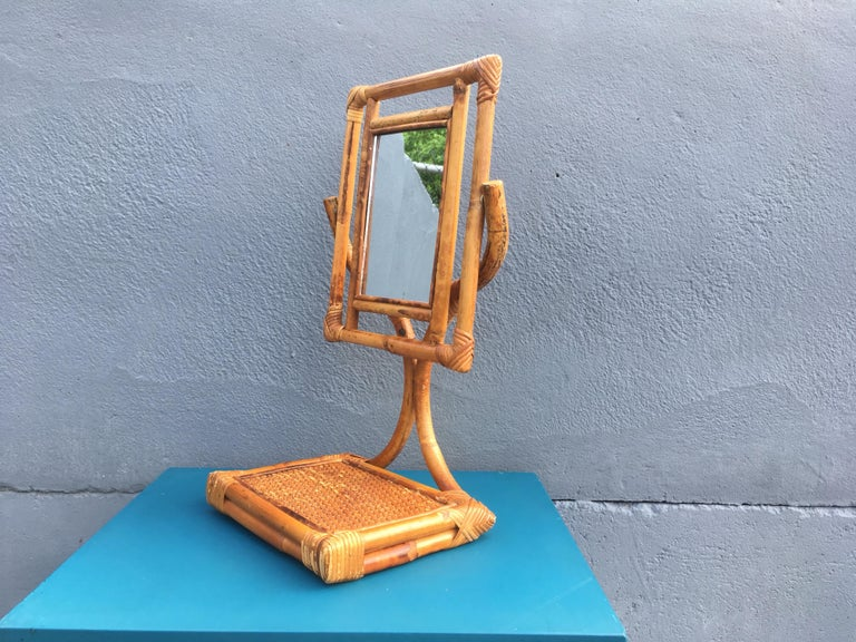 Mid-20th Century Mid-Century Modern Table Mirror For Sale