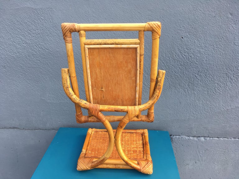Mid-Century Modern Table Mirror For Sale 3