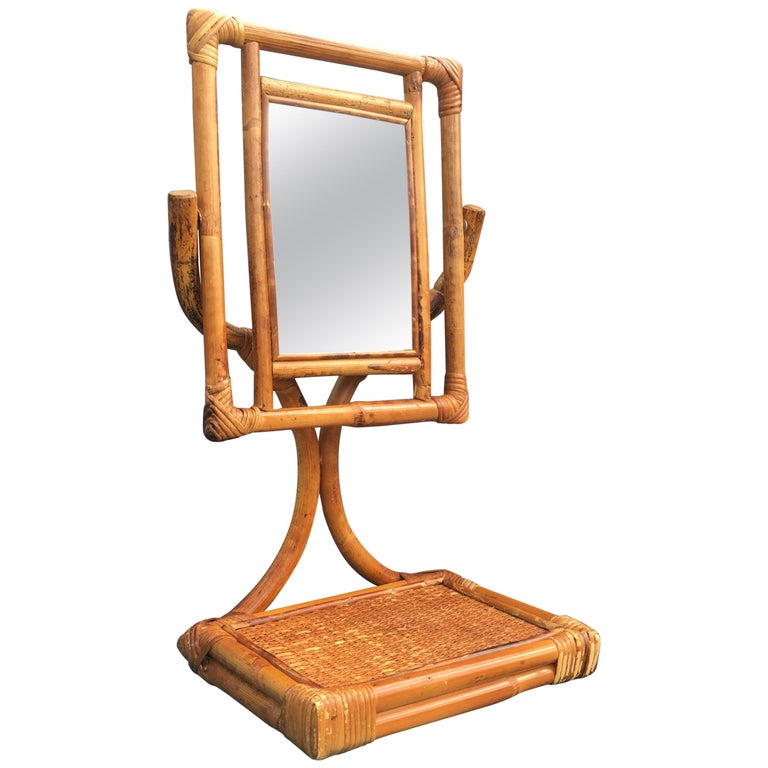 Mid-Century Modern Table Mirror For Sale