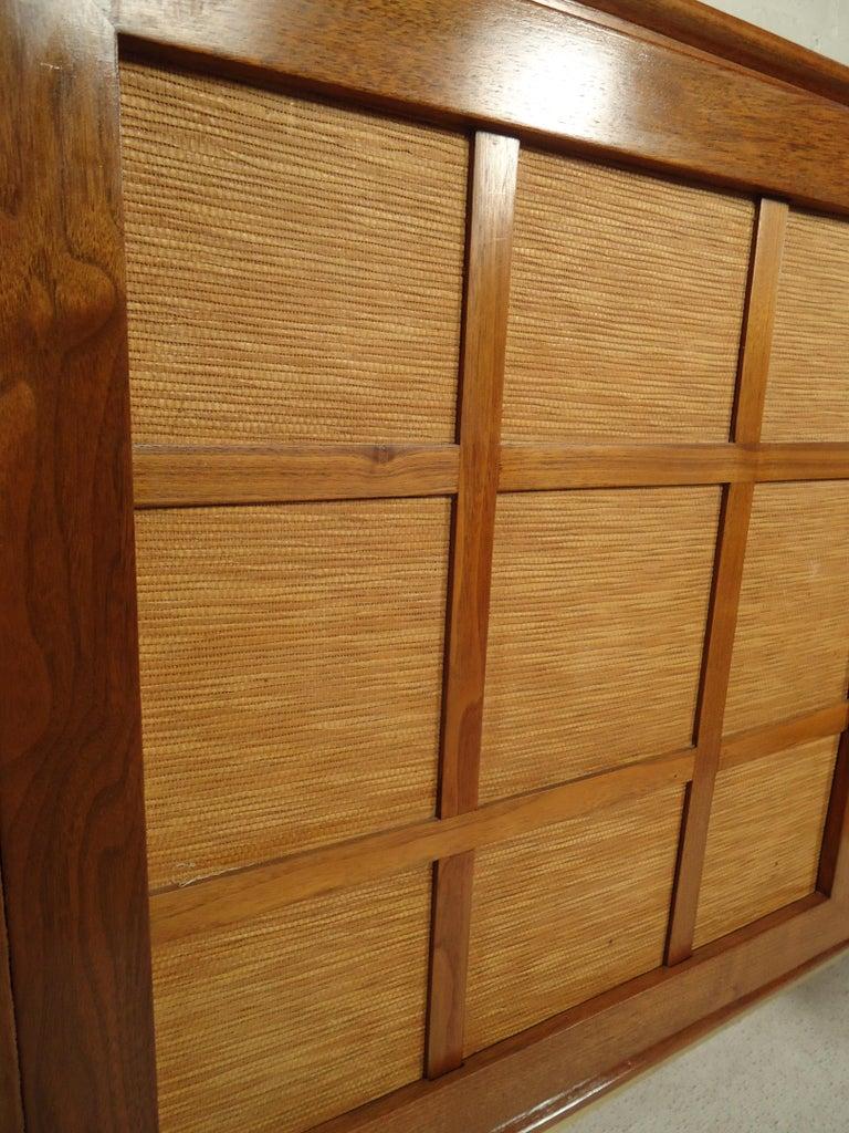 Mid-Century Modern Tambour Door Cabinet For Sale 3