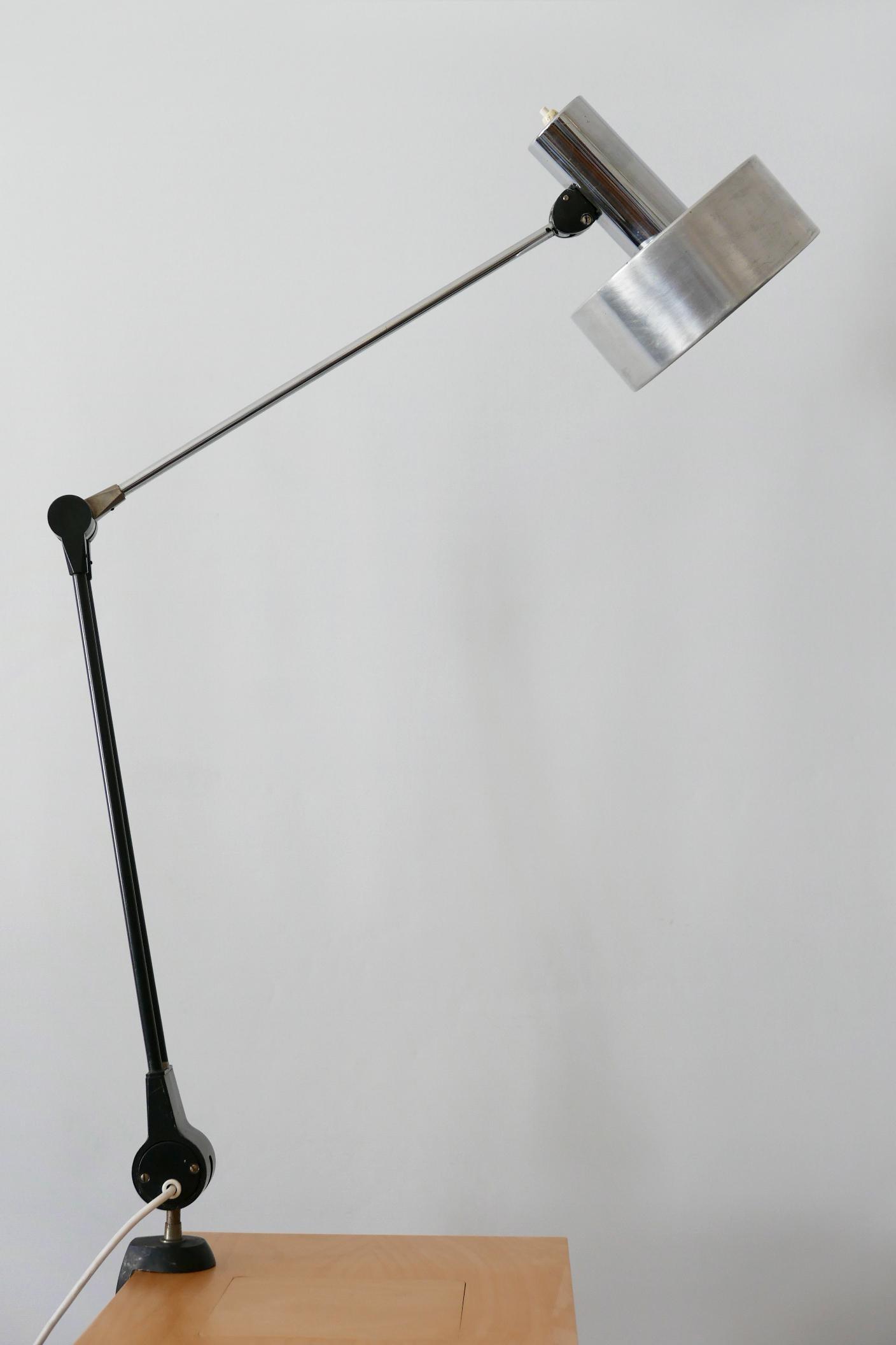 Image of: Mid Century Modern Task Lamp Or Clamp Table Light By Kaiser Leuchten 1970s For Sale At 1stdibs