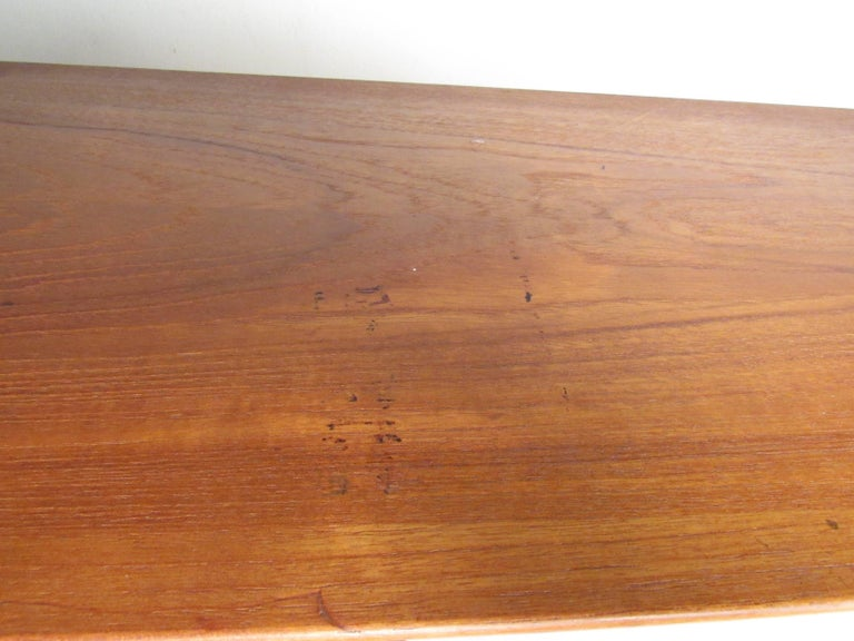 Mid-Century Modern Teak Bookcase by Falster For Sale 8