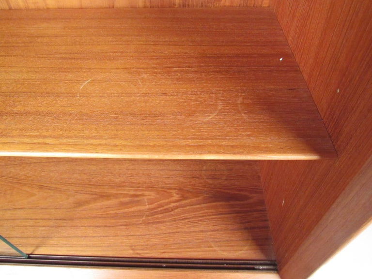 Mid-Century Modern Teak Bookcase by Falster For Sale 1