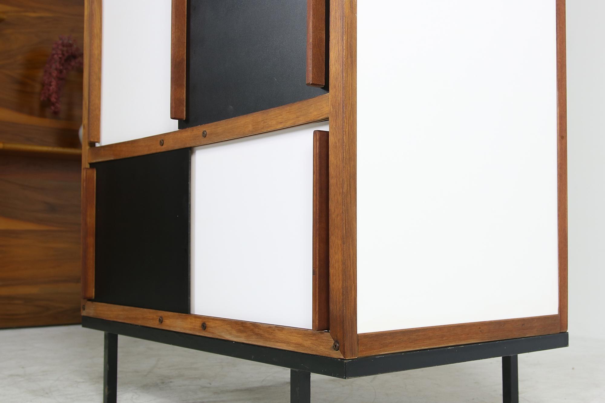 Mid Century Modern Teak Cabinet Wardrobe By Andre Sornay France