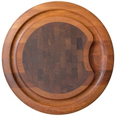 Mid-Century Modern Teak Carving Board Platter by Jens H. Quistgaard for Dansk