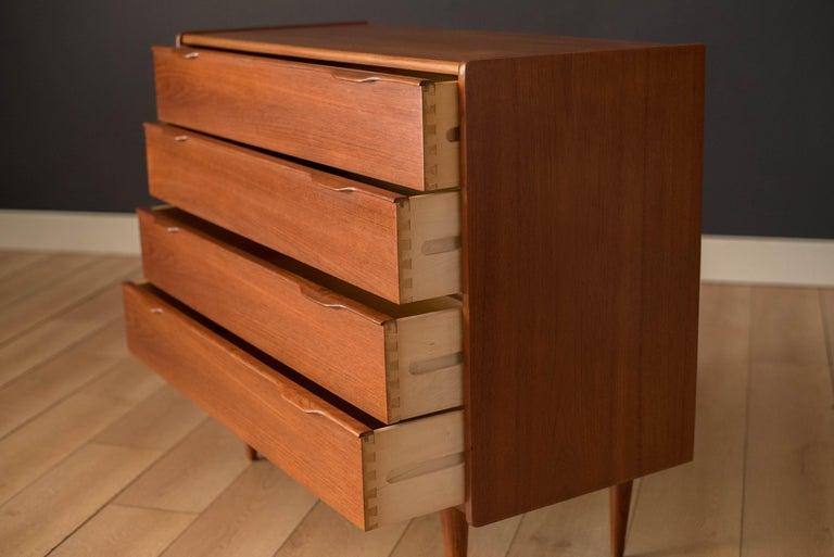 Danish Mid-Century Modern Teak Chest of Drawers by Henning Jorgensen