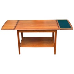 Mid-Century Modern Teak Cocktail Table by Dyrlund