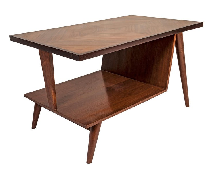 Mid-Century Modern Teak Coffee Table In Good Condition For Sale In Nantucket, MA