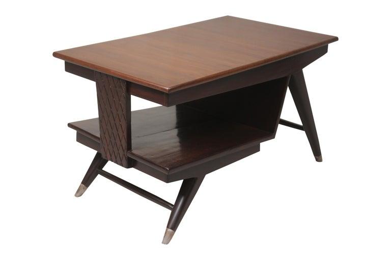 20th Century Mid-Century Modern Teak Coffee Table For Sale
