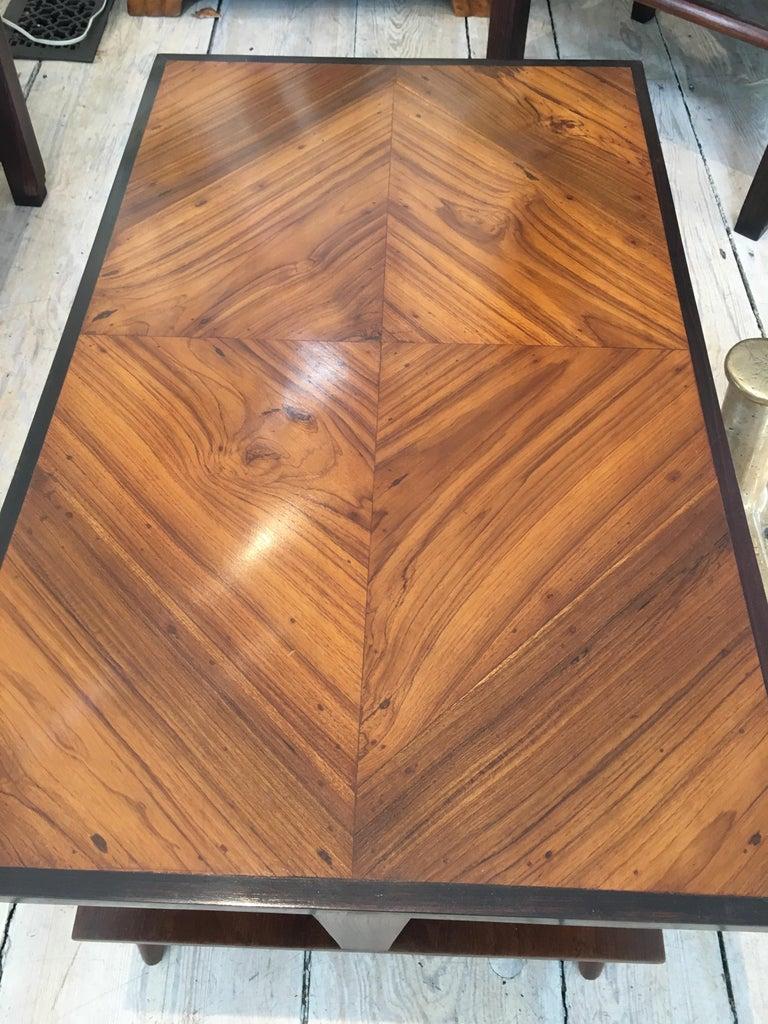 Mid-Century Modern Teak Coffee Table For Sale 1