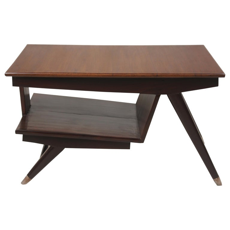 Mid-Century Modern Teak Coffee Table For Sale