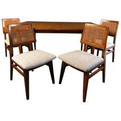 Mid-Century Modern Teak Dining Room Set