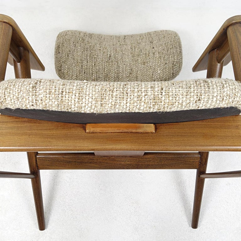 Mid-Century Modern Teak Lounge Chair FT14 by Cees Braakman for Pastoe For Sale 4