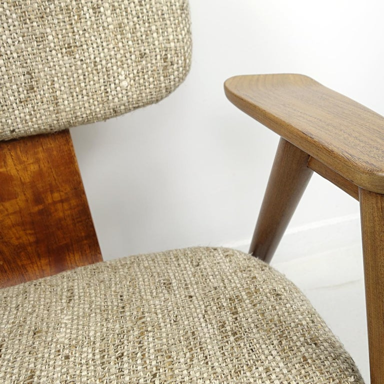 Mid-Century Modern Teak Lounge Chair FT14 by Cees Braakman for Pastoe For Sale 5
