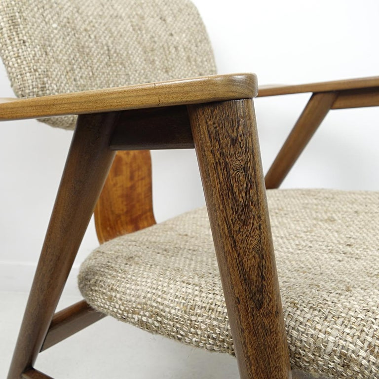 Mid-Century Modern Teak Lounge Chair FT14 by Cees Braakman for Pastoe For Sale 7