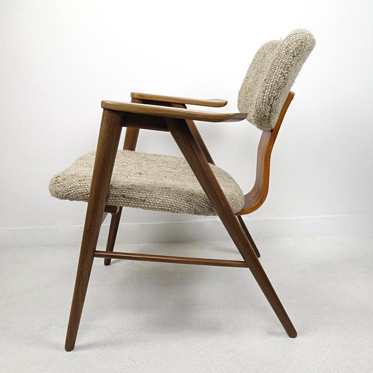 Mid-Century Modern Teak Lounge Chair FT14 by Cees Braakman for Pastoe In Good Condition For Sale In Doornspijk, NL