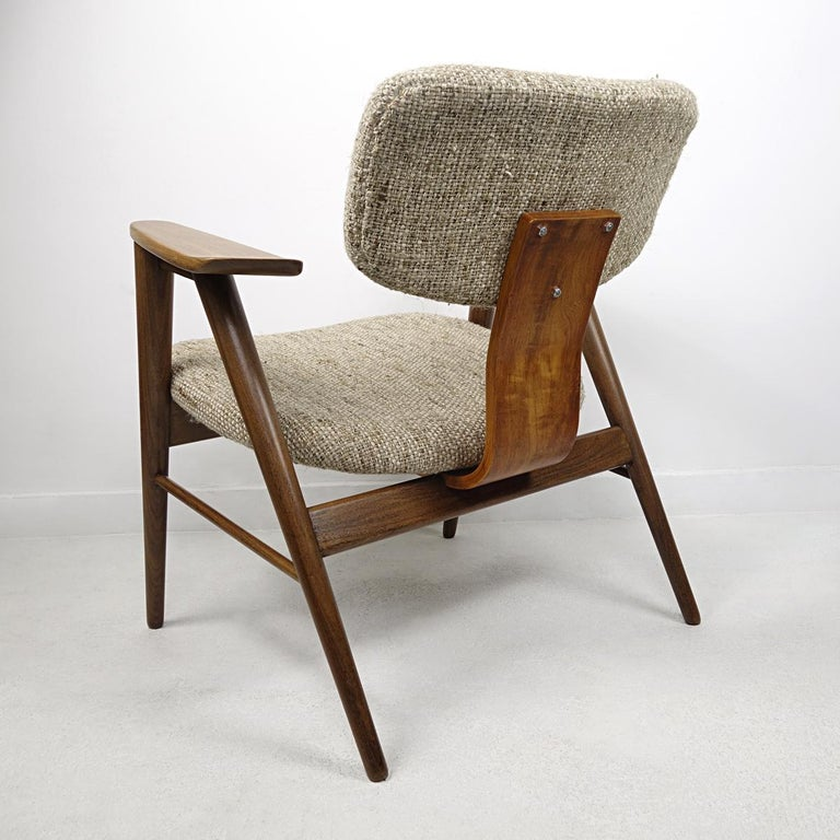 Mid-20th Century Mid-Century Modern Teak Lounge Chair FT14 by Cees Braakman for Pastoe For Sale
