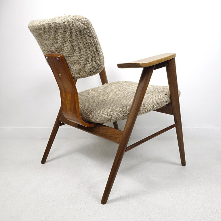 Mid-Century Modern Teak Lounge Chair FT14 by Cees Braakman for Pastoe For Sale 1