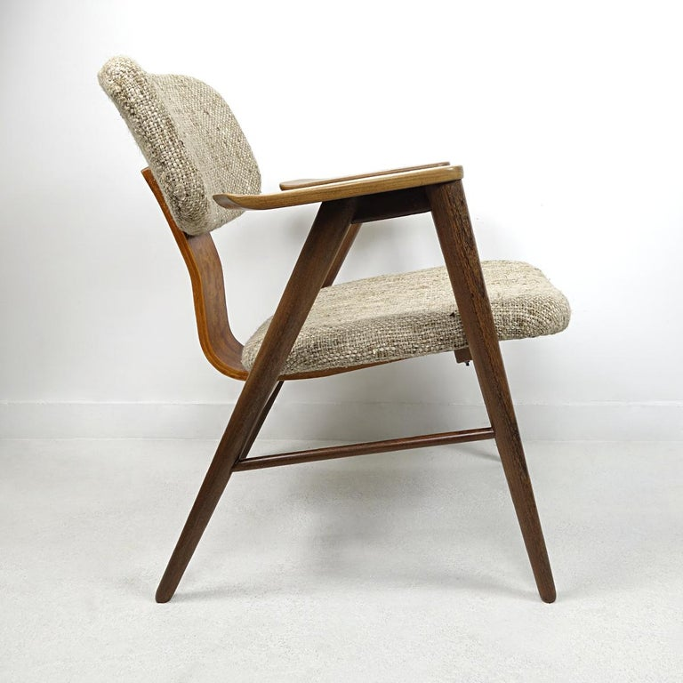 Mid-Century Modern Teak Lounge Chair FT14 by Cees Braakman for Pastoe For Sale 2