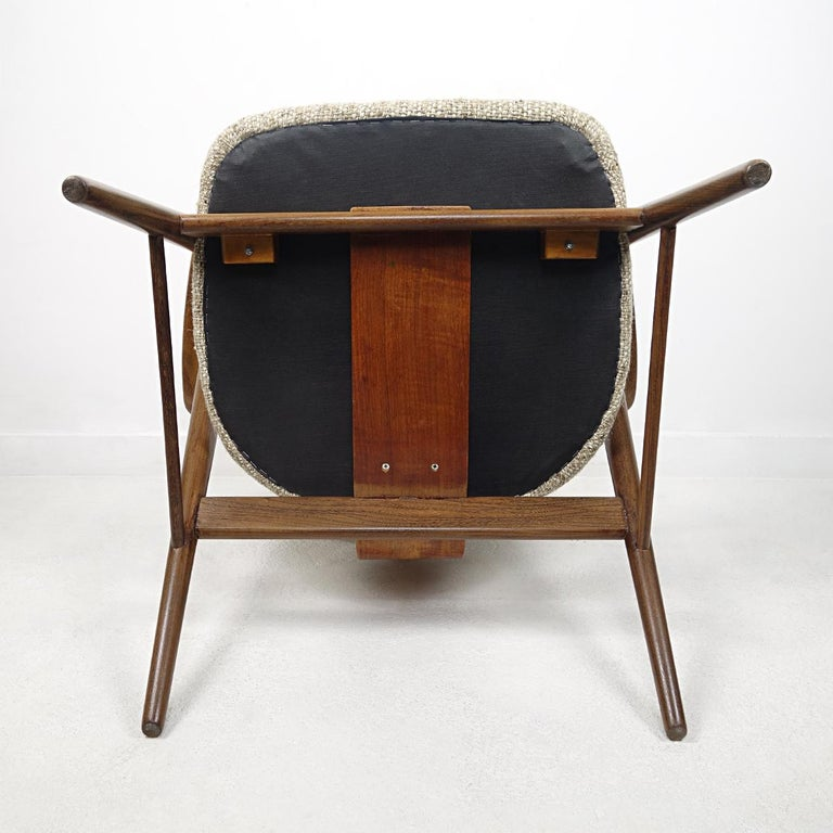 Mid-Century Modern Teak Lounge Chair FT14 by Cees Braakman for Pastoe For Sale 3